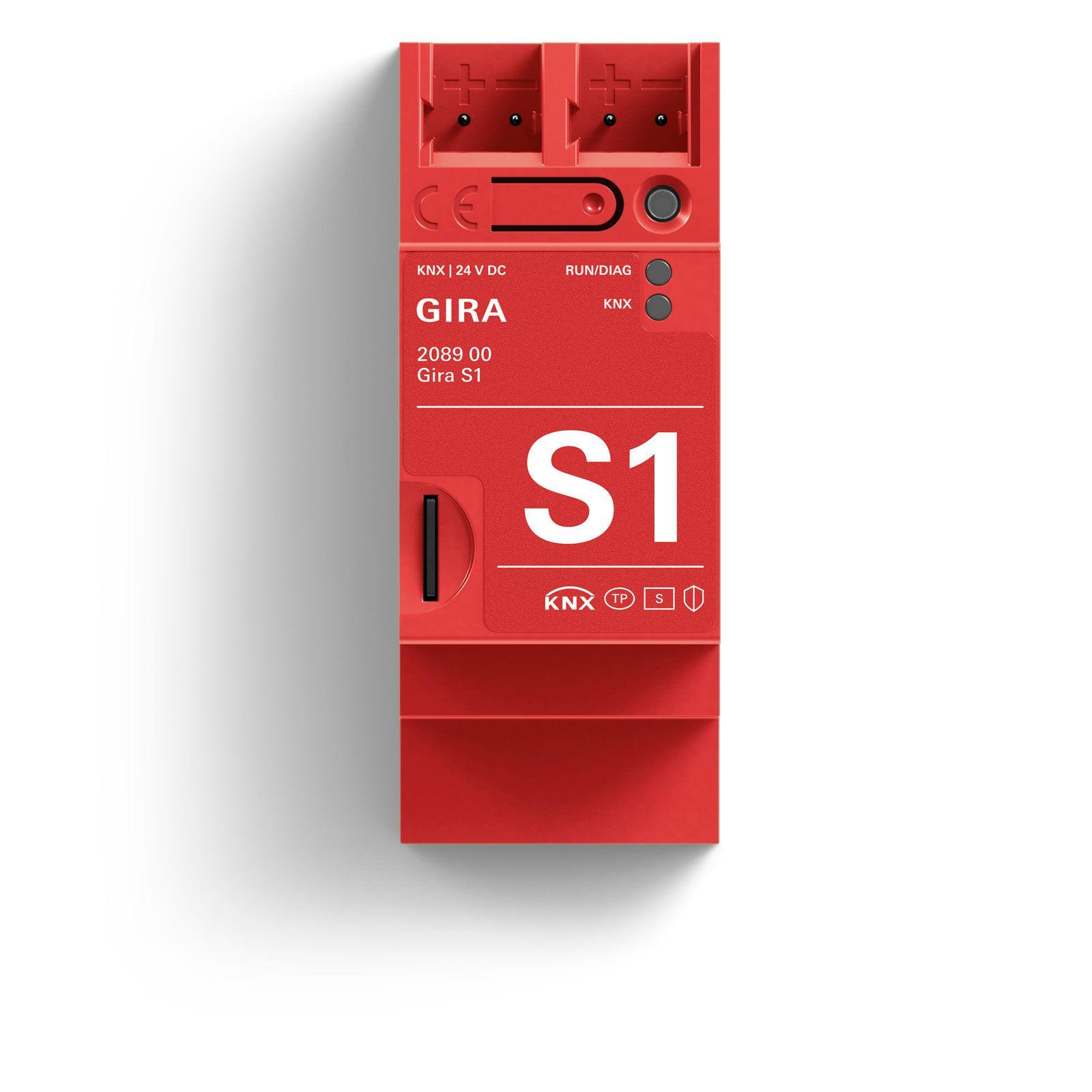 Gira S1 Sicherer Fernzugriff auf das Smart Home mit KNX