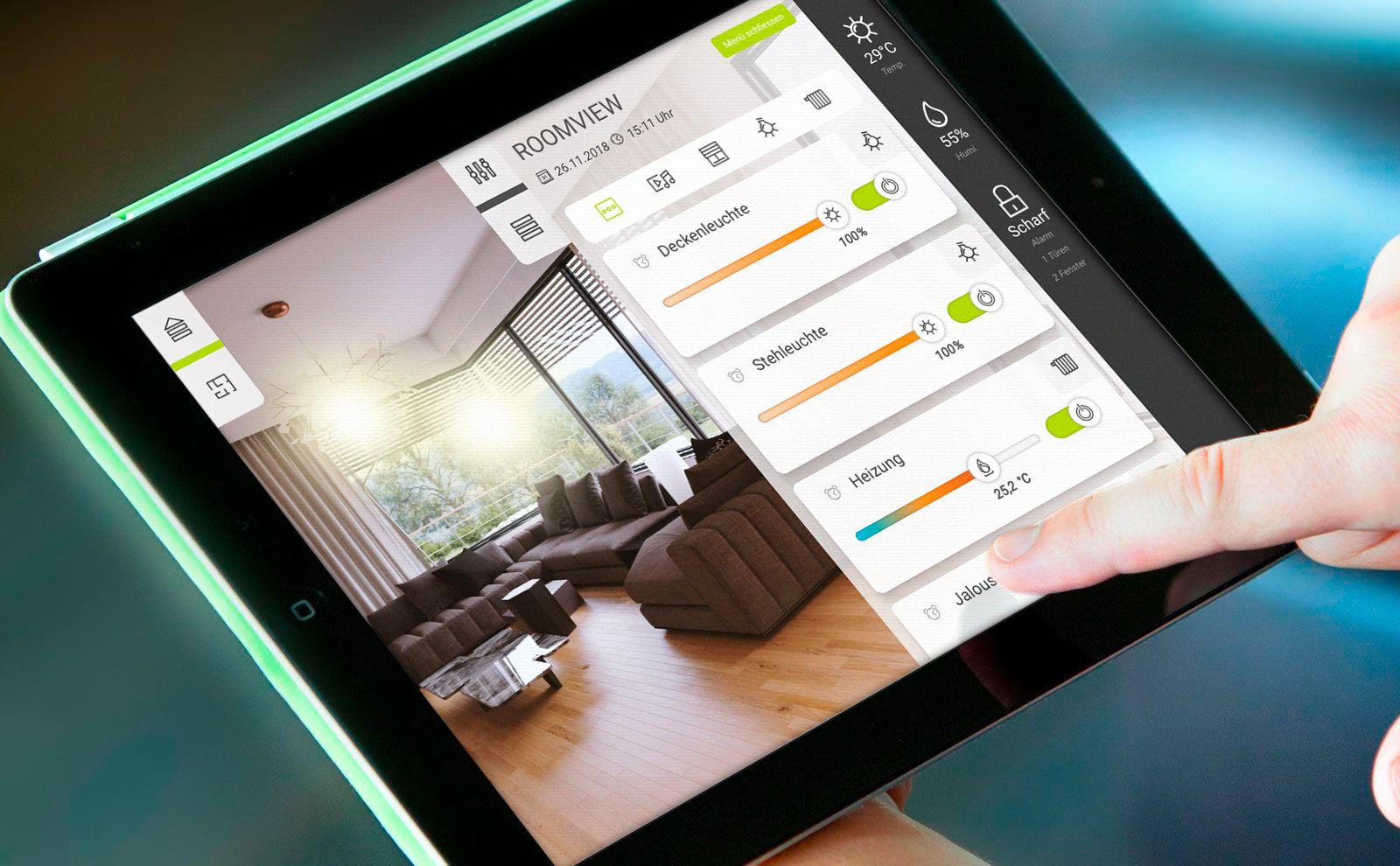 Gira HomeServer App Freie Visu