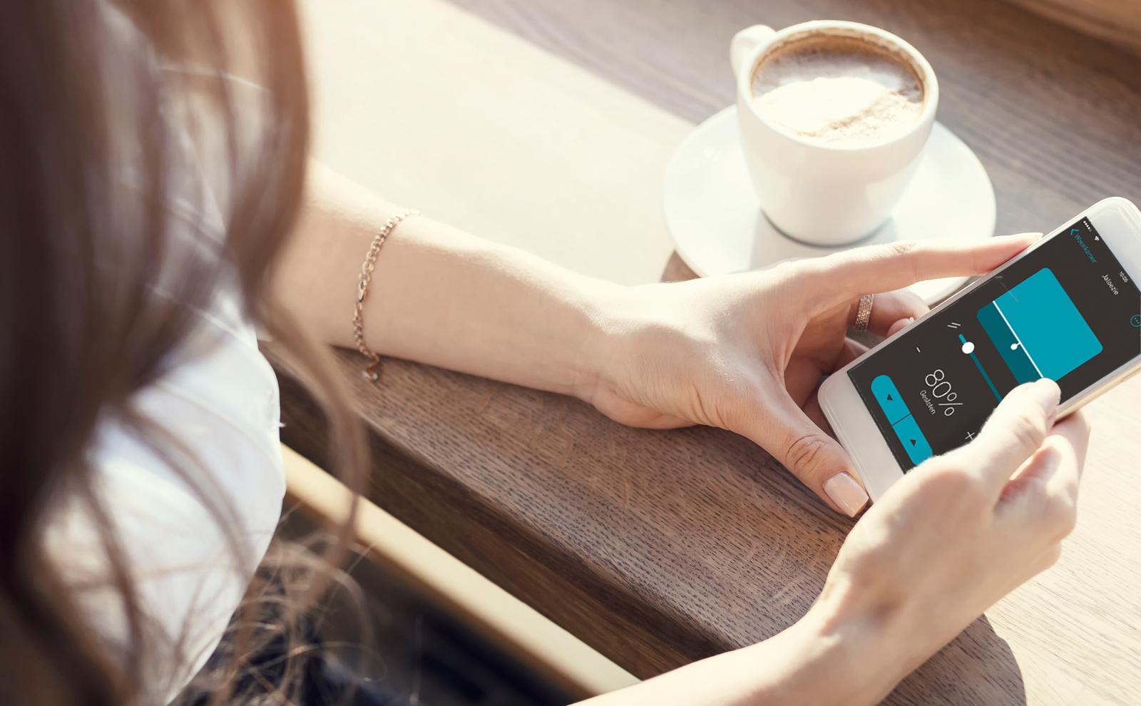 Gira eNet SMART HOME vanaf uw mobiele telefoon