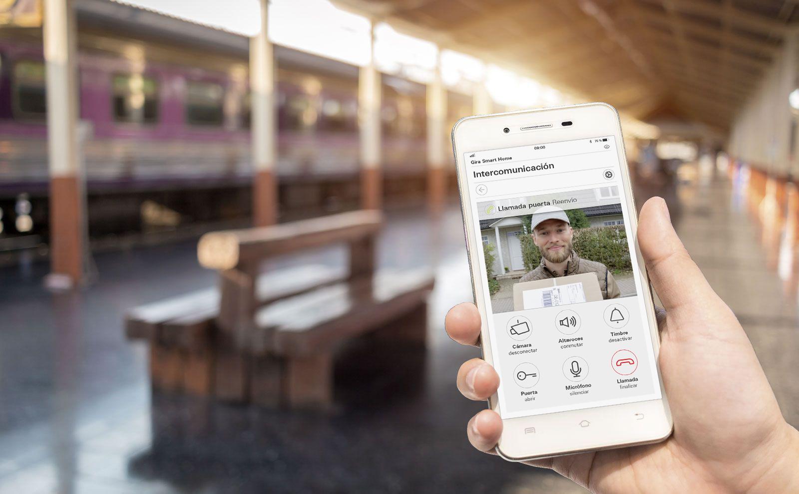 Gira System 106 TKS mobil App