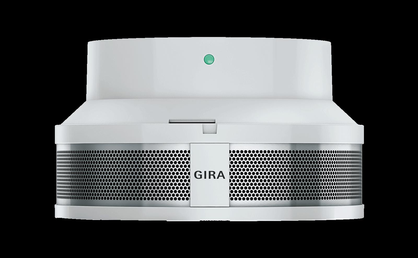 Gira Rauchwarnmelder Dual Q mit Sockel
