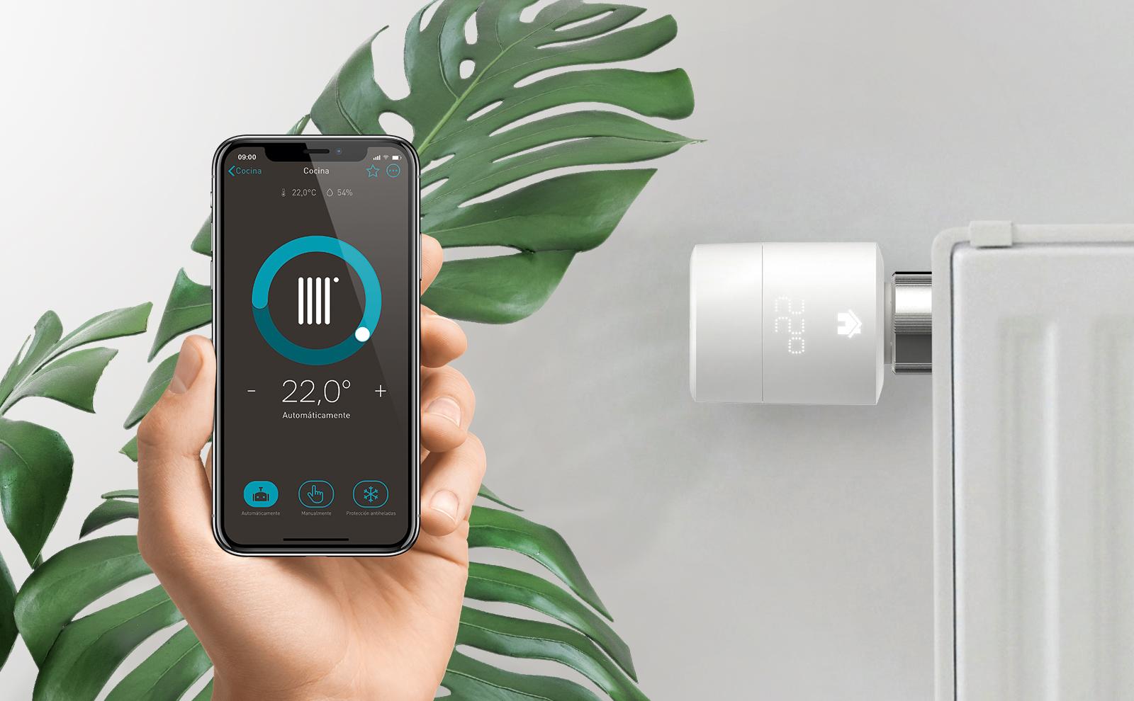 eNET SMART HOME App für die Tado Heizungssteuerung