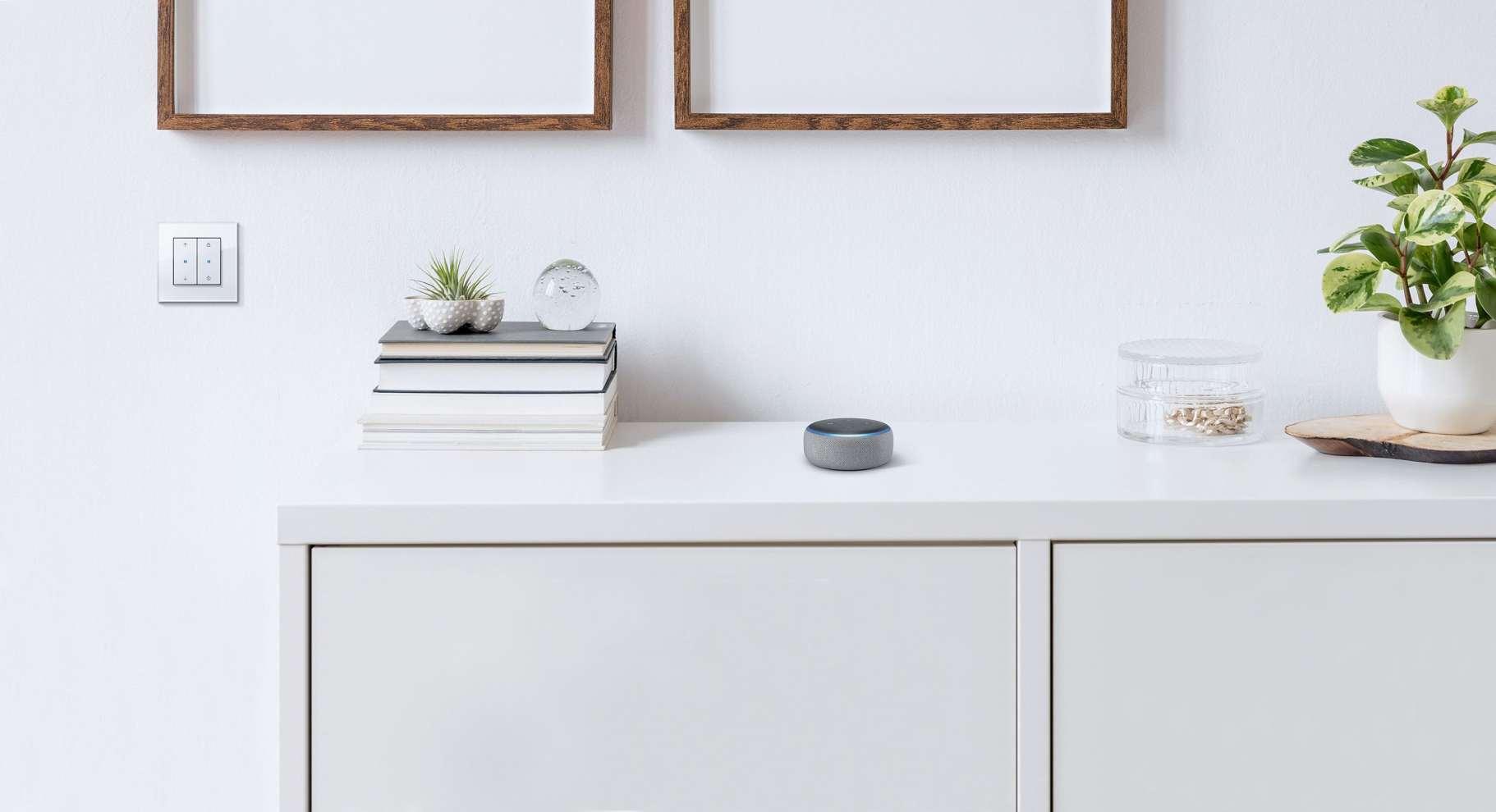 Gira eNet Sprachsteuerung mit Amazon Alexa