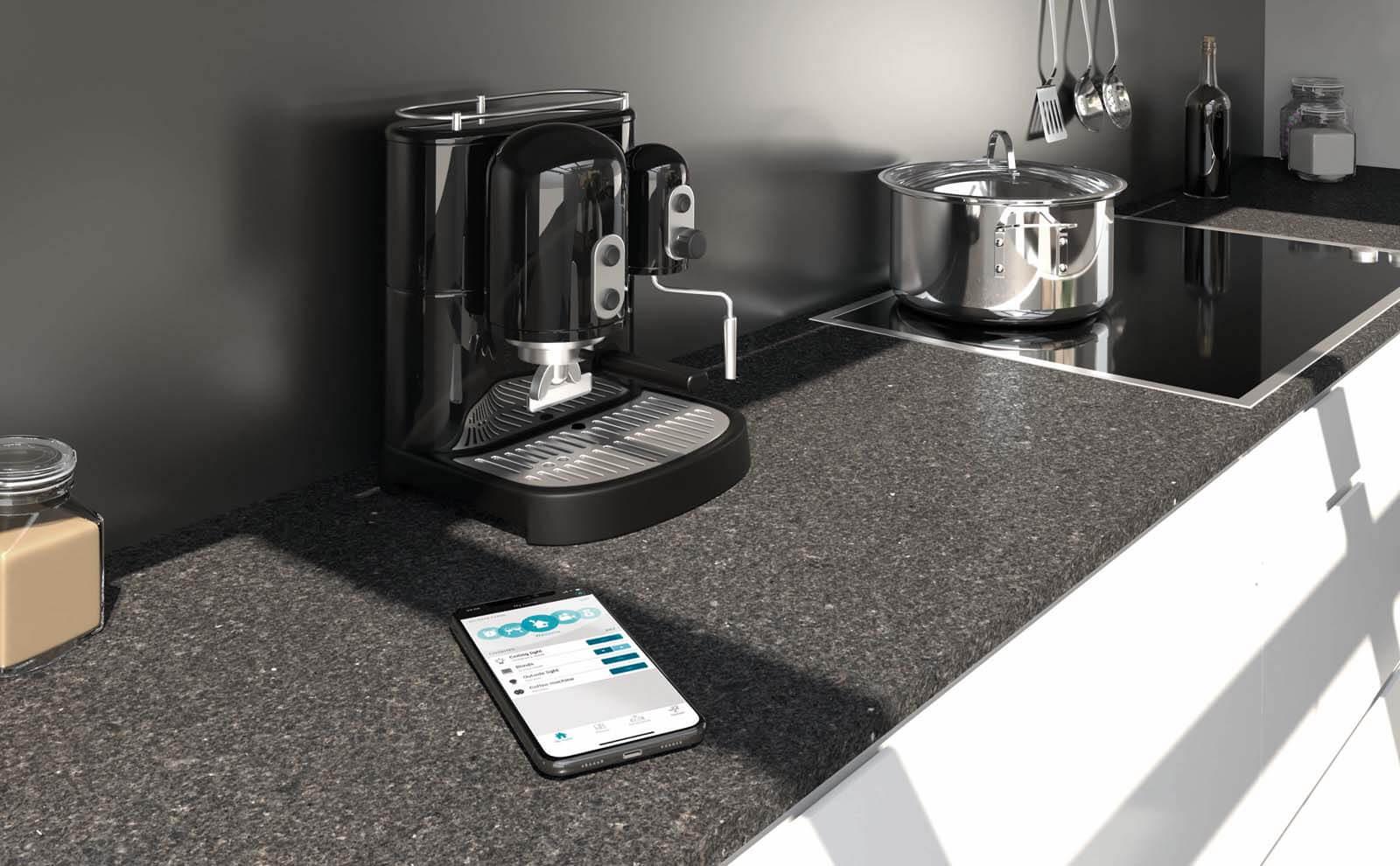 Gira eNet SMART HOME am Smartphone