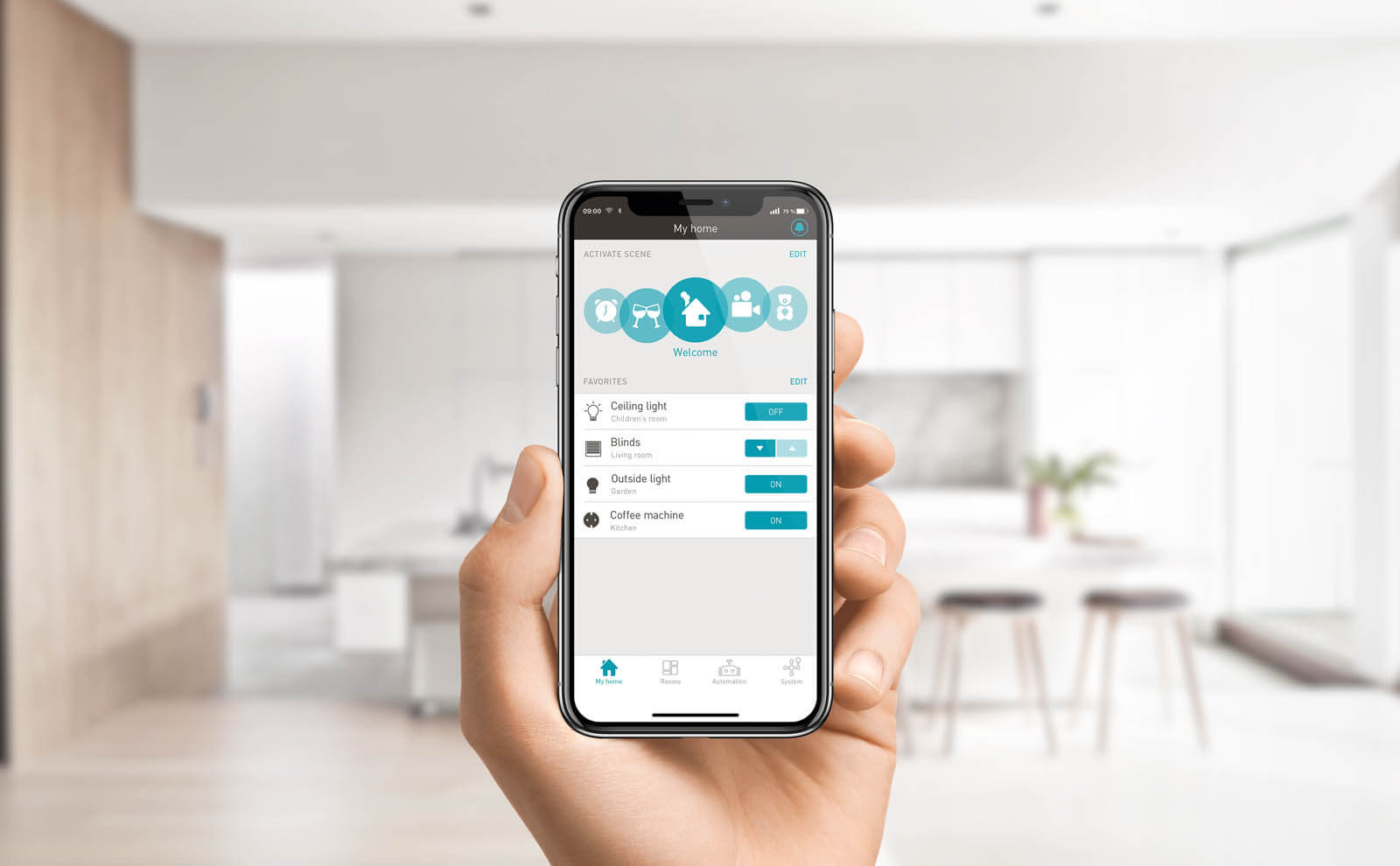 eNet SMART HOME App mobile