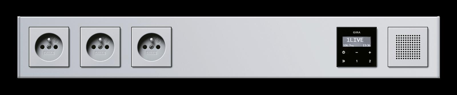 Gira Produkt Profil55 frontal