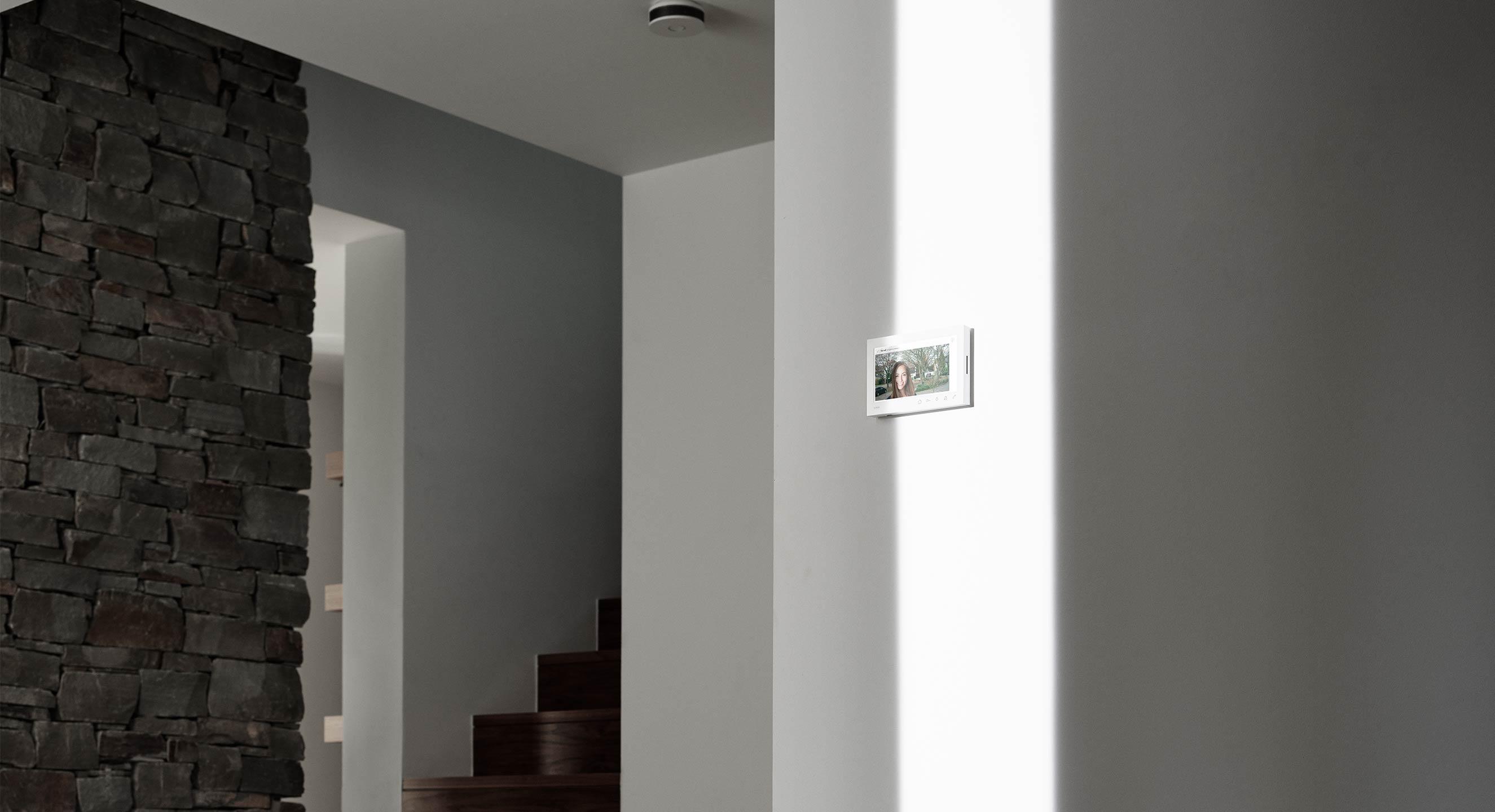 Gira Produkt Wohnungsstation Treppe