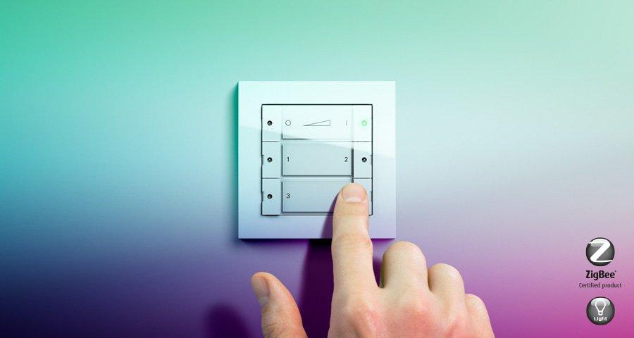 ZigBee Light Link Designschalter
