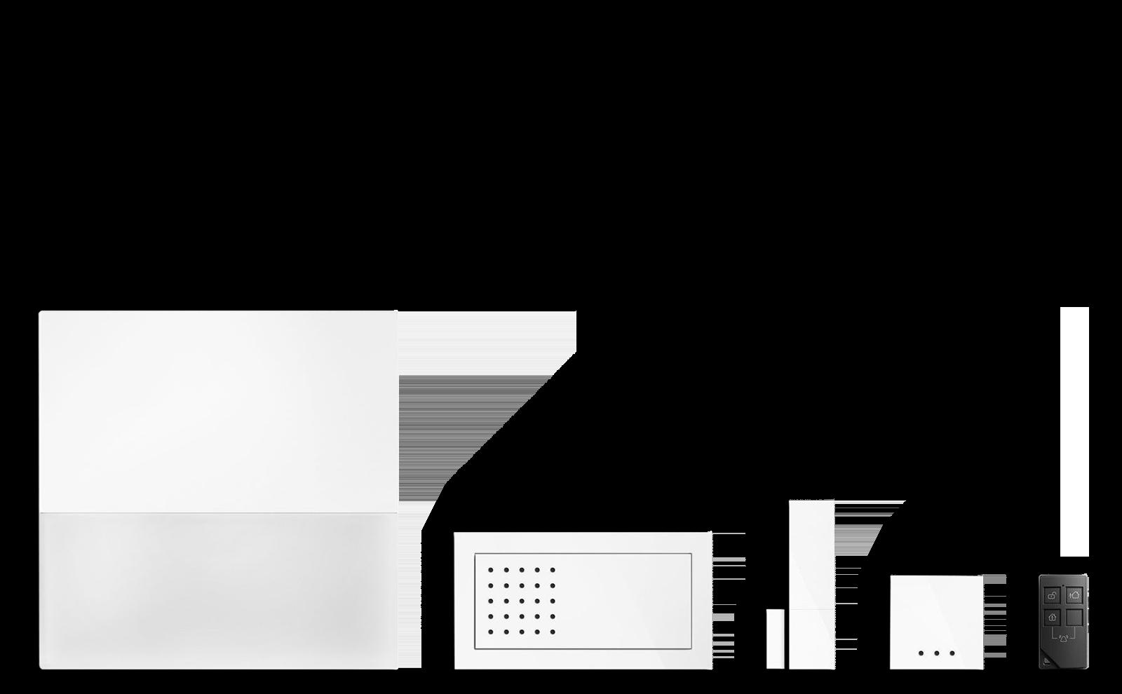 Gira Alarm Connect freigestellt bild unten