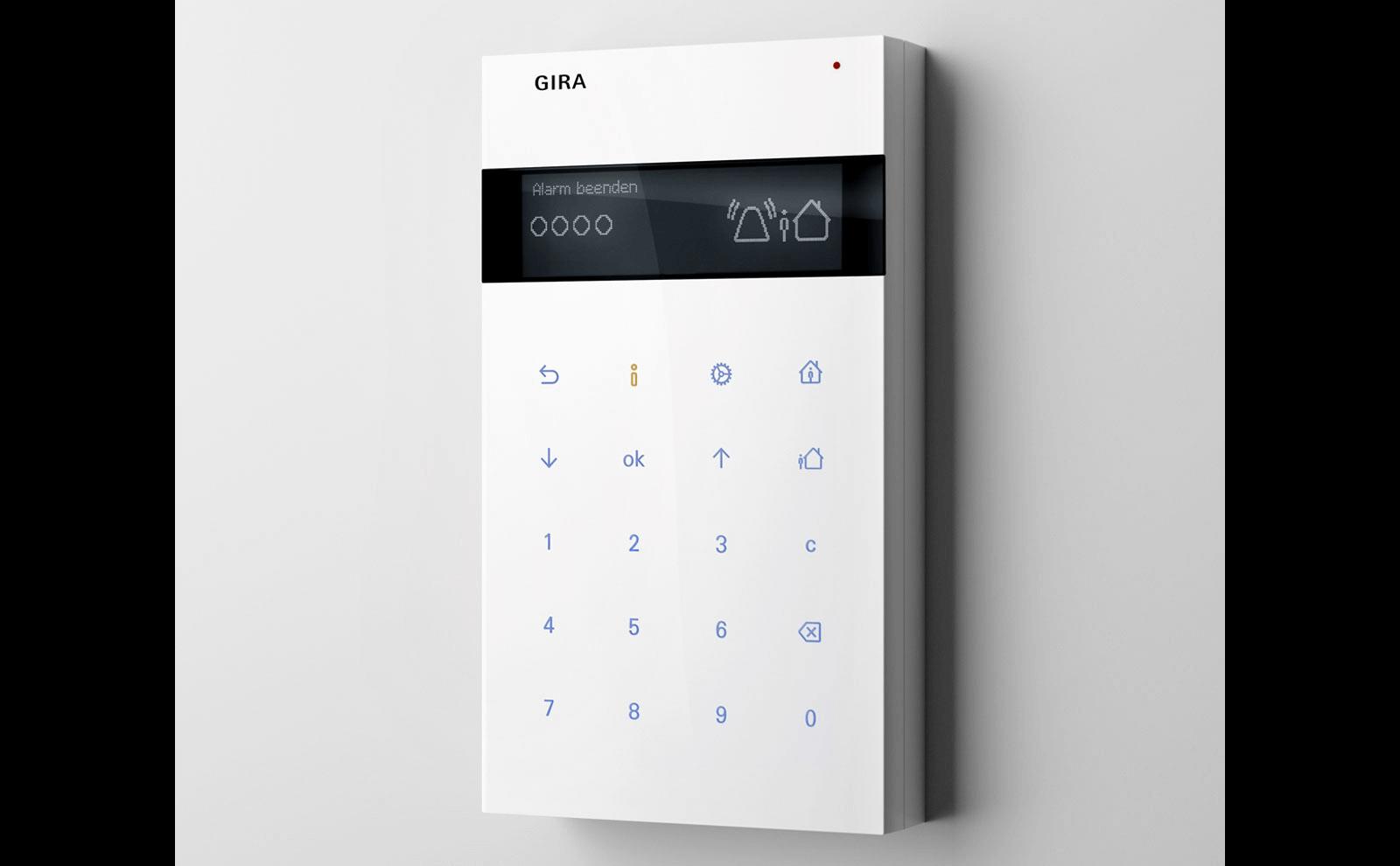 Gira Alarm Connect Funk Bedieneinheit