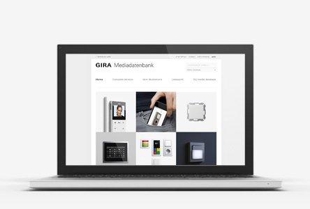 Gira Media Datenbank