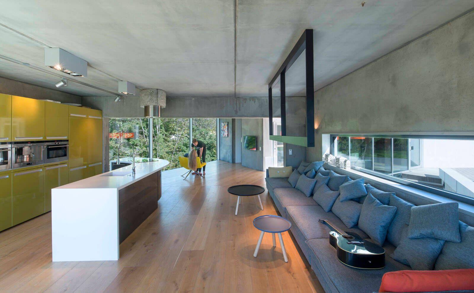 Architektur Referenz Hammerbakken Innenbereich