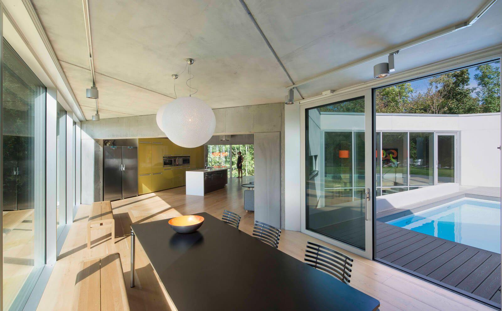 Architektur Referenz Hammerbakken Innenansicht