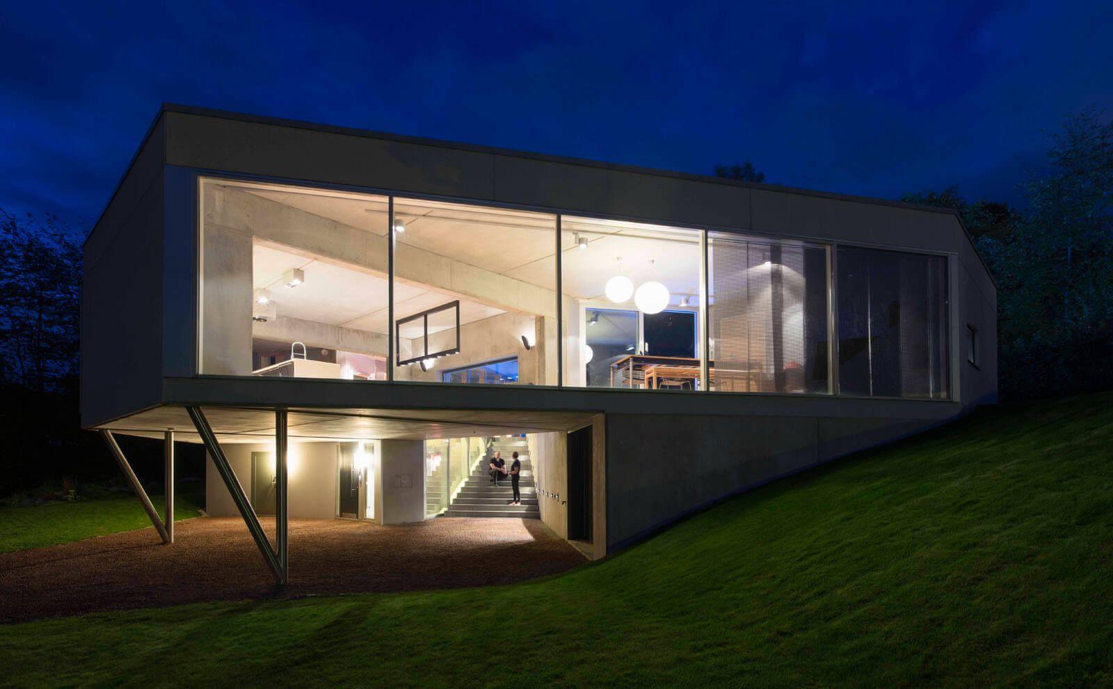 Architektur Referenz Hammerbakken