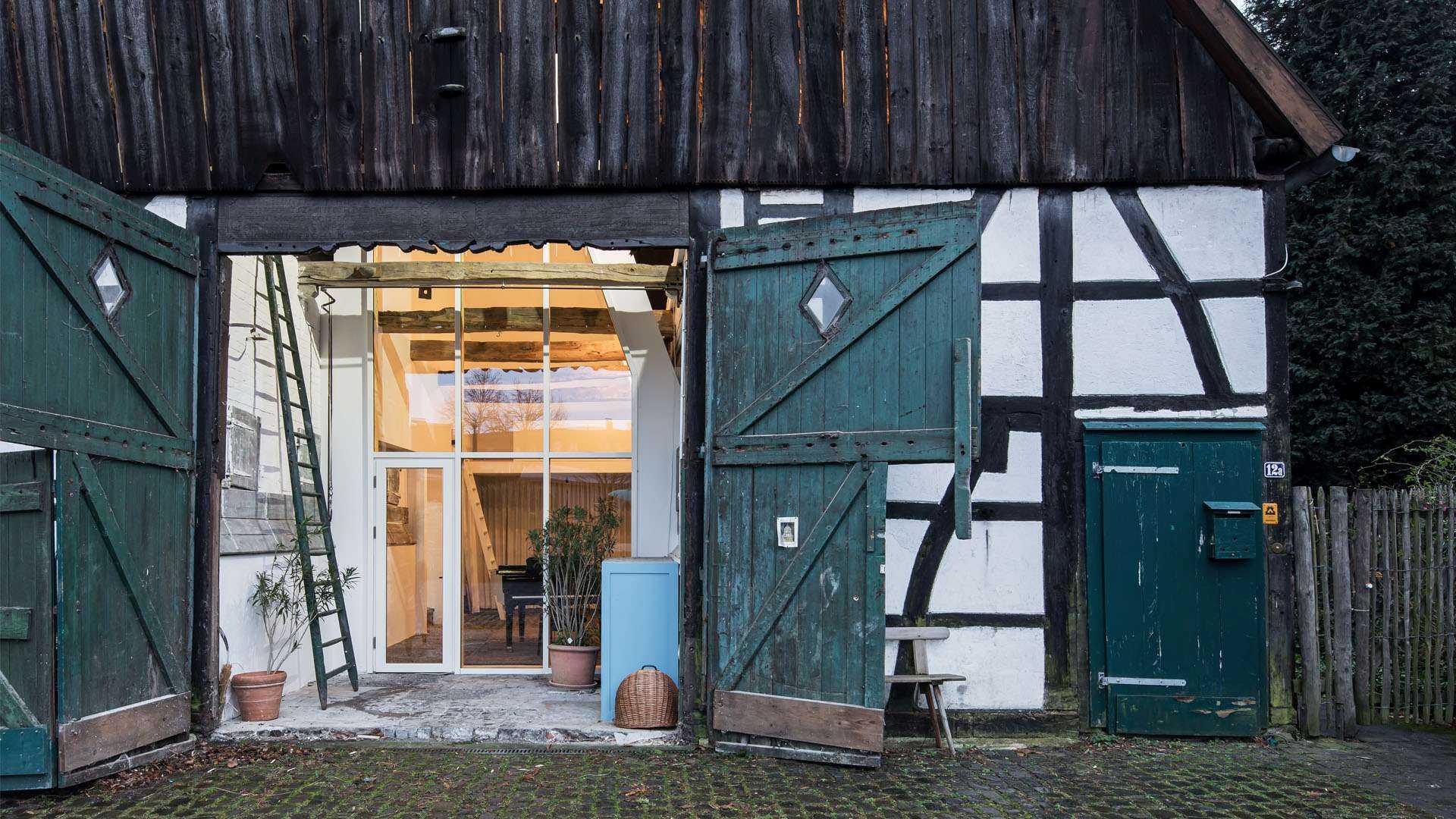 Dortmannhof - Hallenhaus von Außen