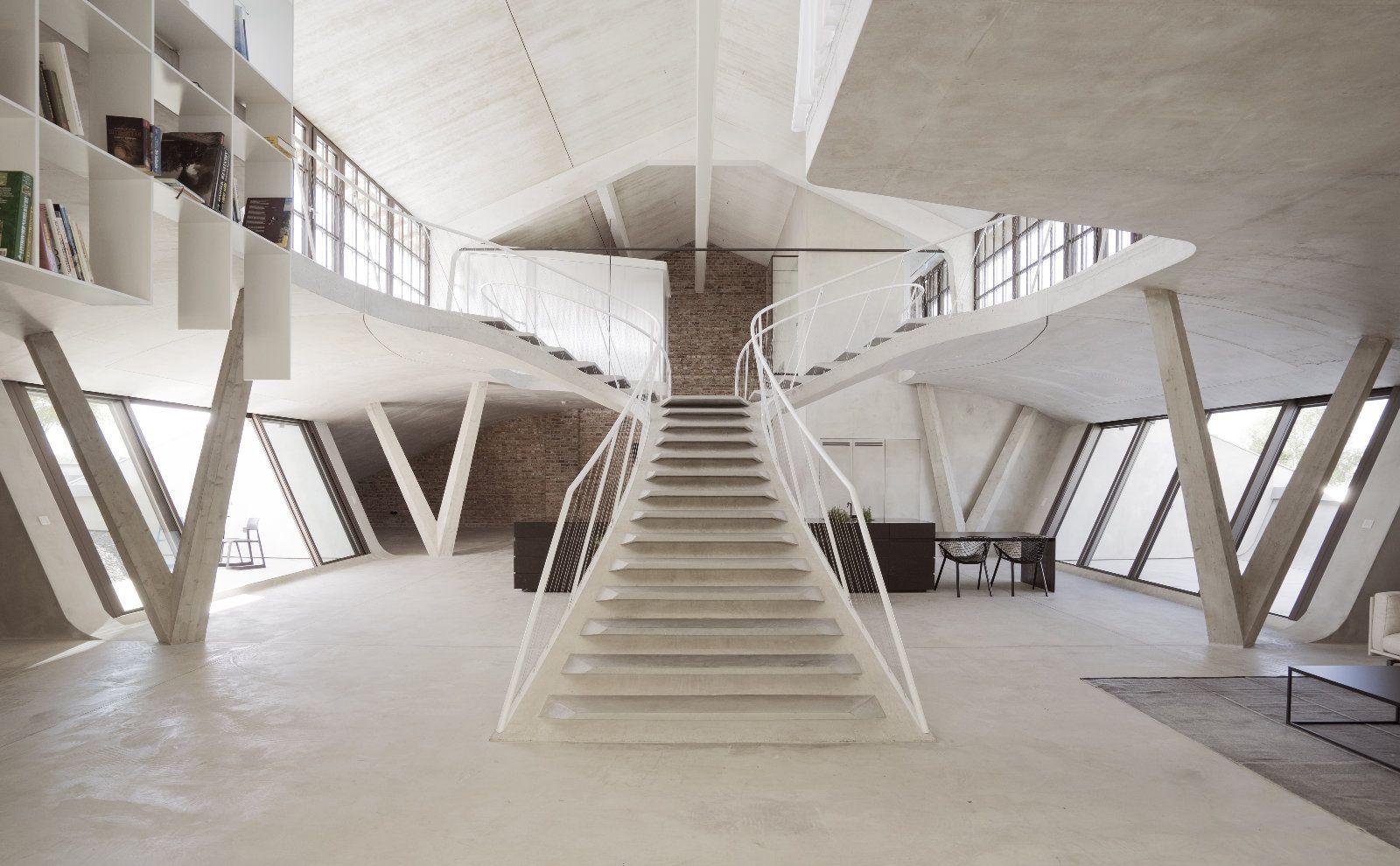 Loft in der Panzerhalle von smartvoll Architekten