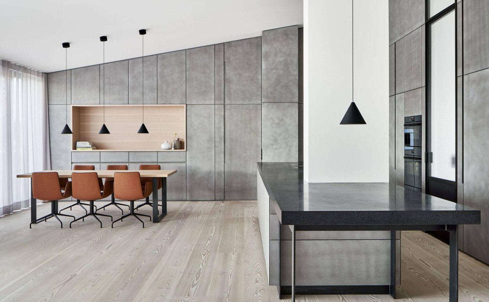 Industrie-Stil mit wohnlicher Wärme von DIIIP Architekten