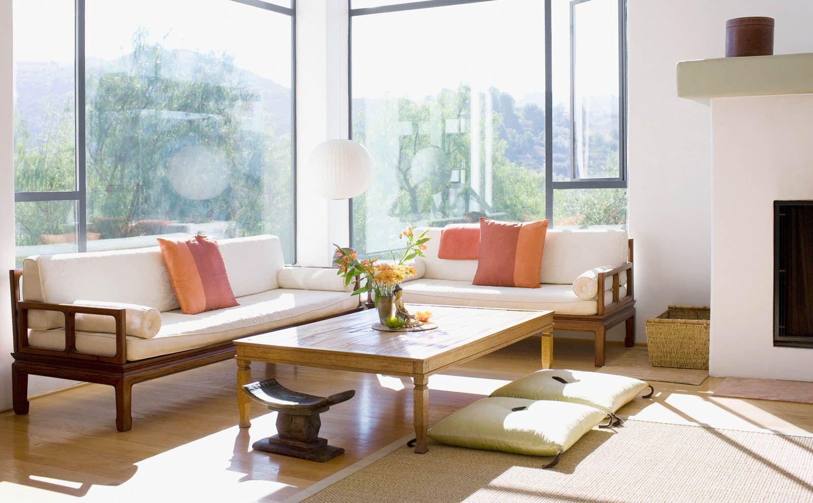 Japandi Interior Wohnzimmer