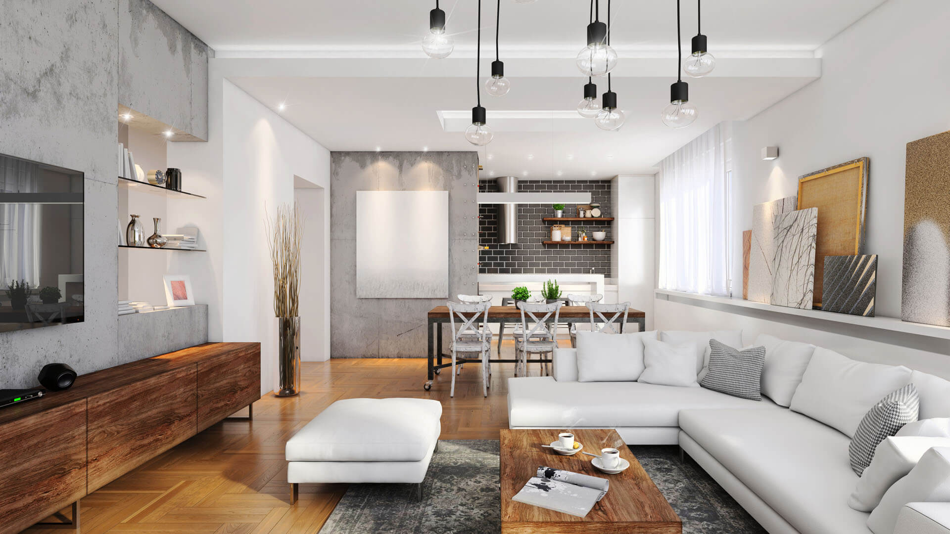 Lichtkonzept im Gira Smart Home