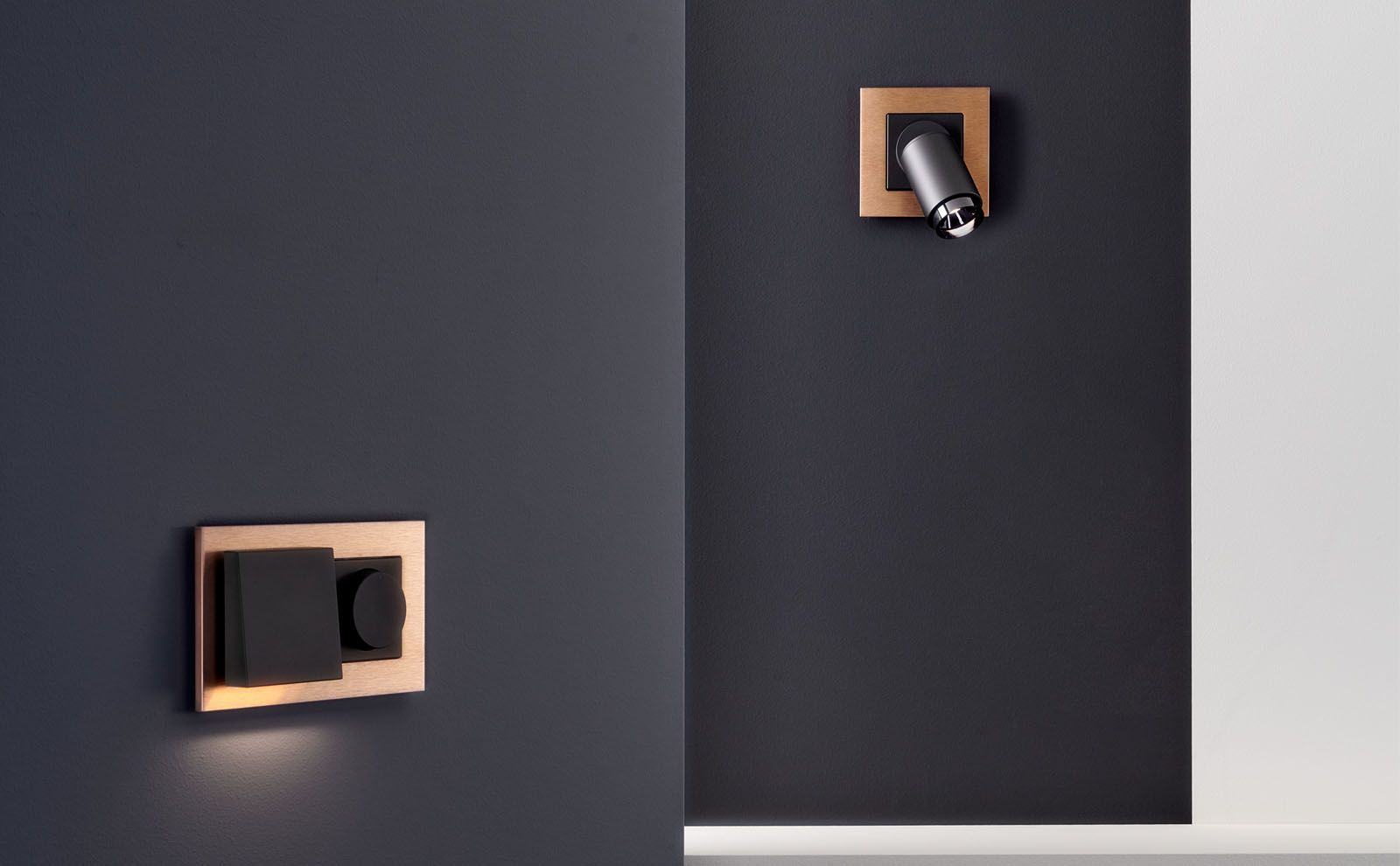 Plug & Light von Gira Bronze