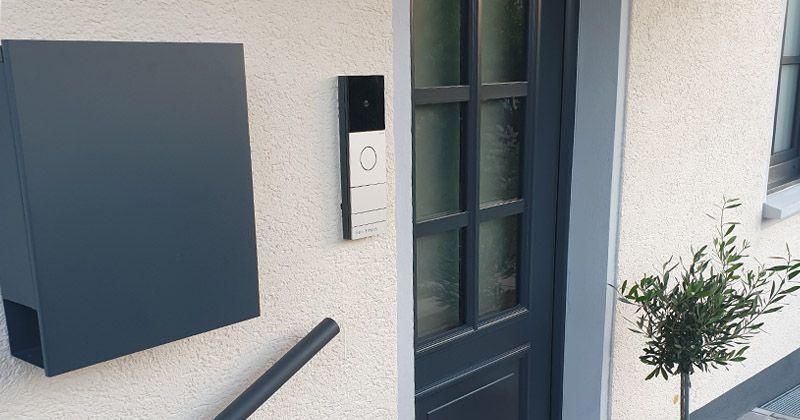 Gira Haustür System 106 Türsprechanlage