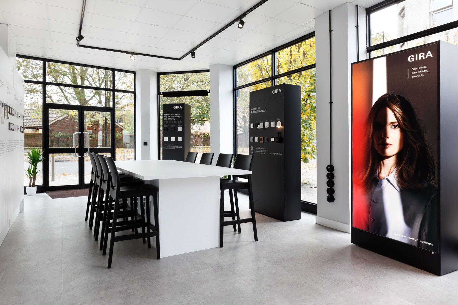 Gira INTALITE showroom UK