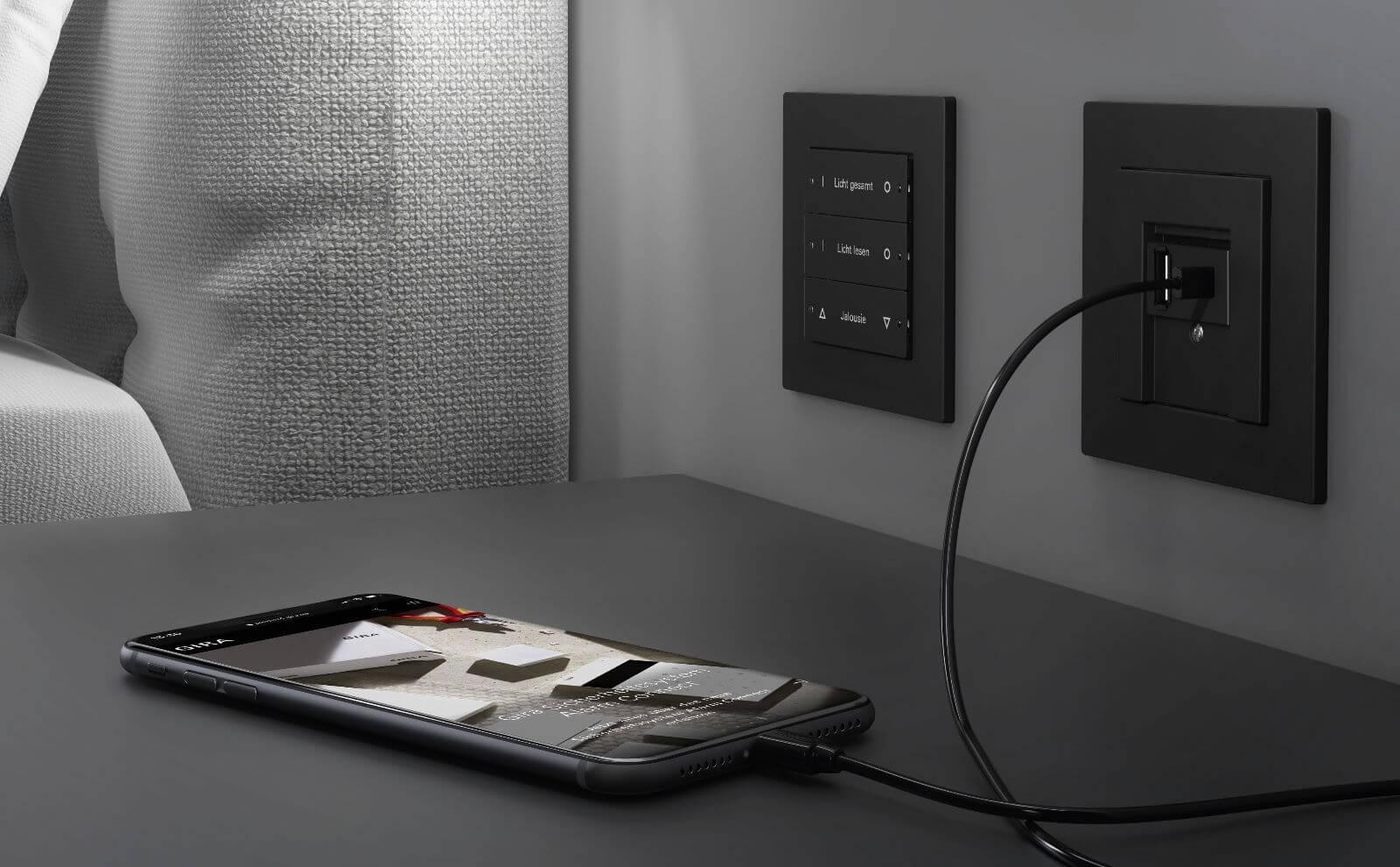 Gira USB SpannungsversorgungA & C