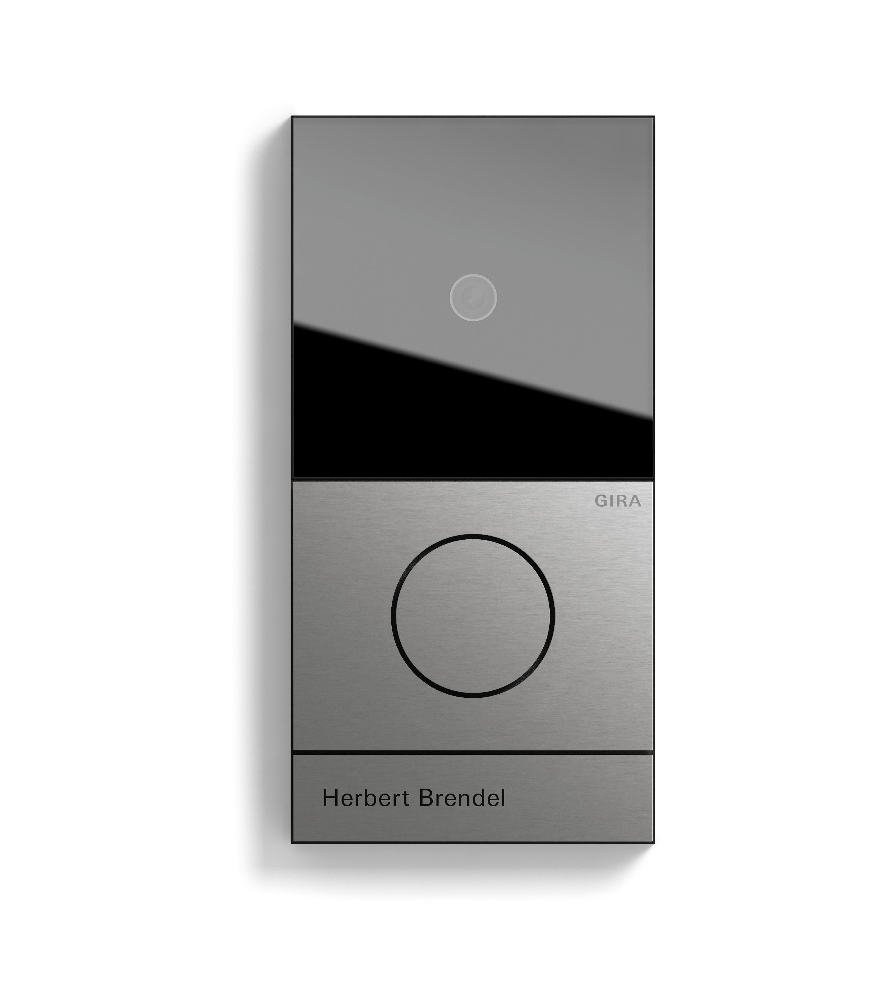 gira system 106 neue design und funktionsvielfalt an der t r. Black Bedroom Furniture Sets. Home Design Ideas