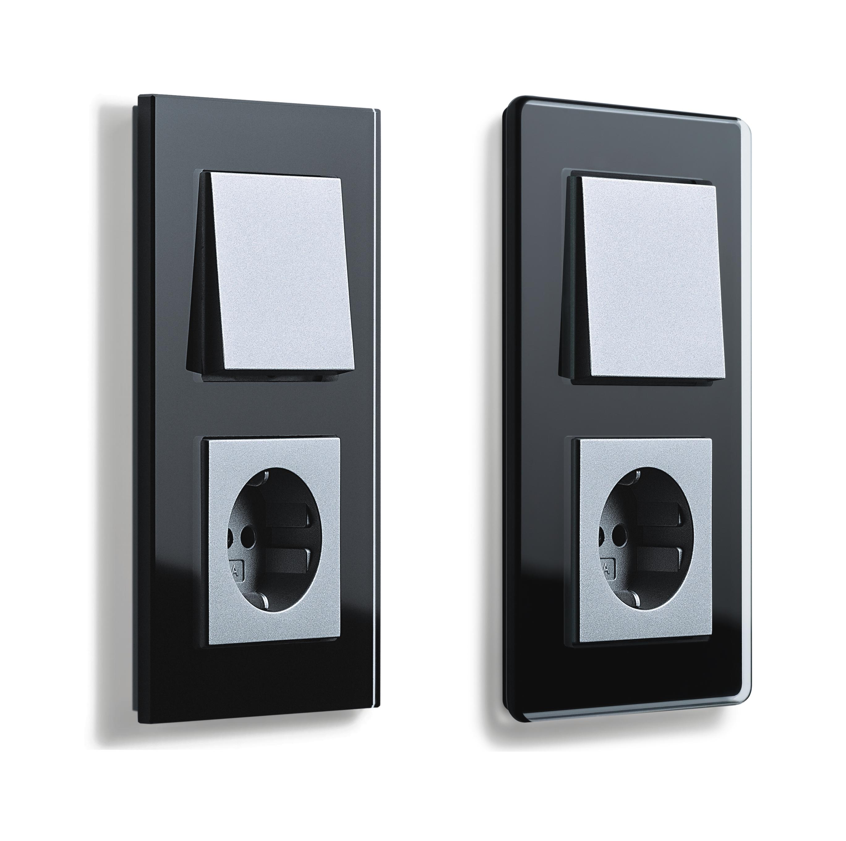 gira esprit glas c. Black Bedroom Furniture Sets. Home Design Ideas