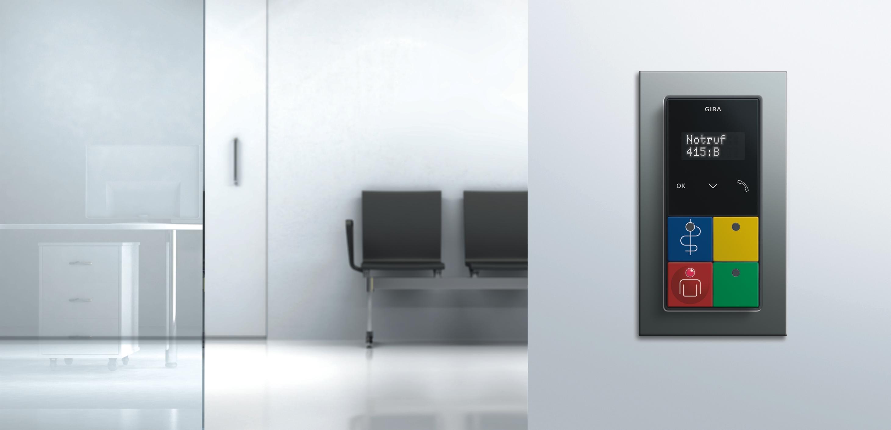 gira rufsystem 834 plus. Black Bedroom Furniture Sets. Home Design Ideas