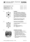 Dämmerungs-/ Helligkeits-/ Temperatursensor
