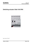 Switching actuator, 2-gang, with manual activation 16 A