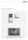 Gira door communication system