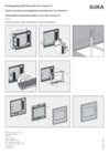 Flush-mounted housing/flush-mounted box for Gira Control 9 Client