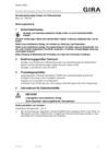 Raumtemperaturregler-Einsatz mit Fühleranschluss