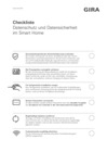 Checkliste Datenschutz und Datensicherheit im Smart Home