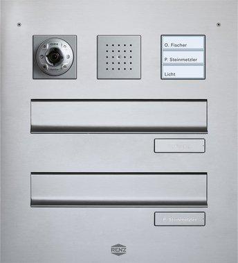 gira t rsprechanlage in briefkastenanlagen designvarianten. Black Bedroom Furniture Sets. Home Design Ideas