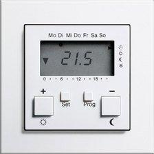 Gira Raumtemperatur Regler Mit Uhr Und Kuhlprogramm