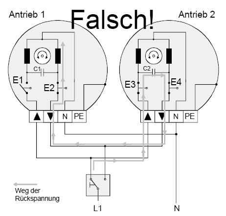 Turbo Gira FAQ - Rohrmotoren / Parallelschaltung von Motoren WC07